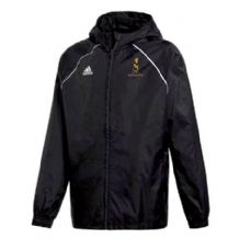 Instonians Rugby Club Adidas Core 18 Rain Jacket Black/White Youth 2019